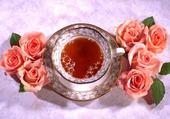 Puzzle Roses thé