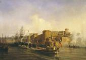 Port de Brest en 1858