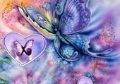 Papillons volent