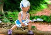 Puzzle Enfant à la guitare