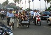 Puzzle Dans les rues de Phnom Penh
