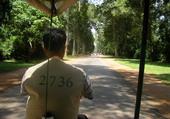 Notre chauffeur à Angkor