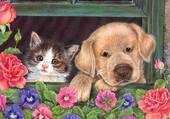 Puzzle meilleurs amis