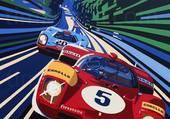 Ferrari et Porsche