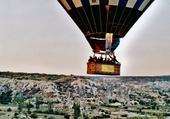 mongolfière sur la Cappadoce