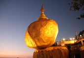 Rocher d'or. Myanmar