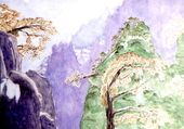 Monts en Chine
