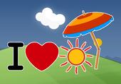 i love sun