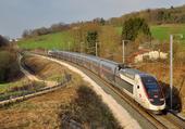 TGV Duplex en livrée Carmillon