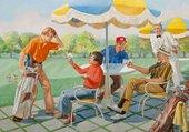 Puzzle au golf - martin baumhofer