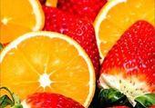 Oranges fraises