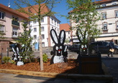 Puzzle paques en Alsace