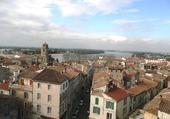 Arles vue du Colisée