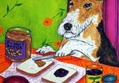 Le chien de schmetzpetz