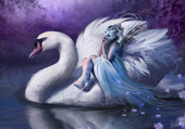 La fée au cygne