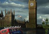 Puzzle Londres sous les eaux