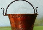 Vasque en cuivre 1