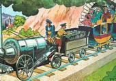 Puzzle Ancien train