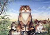 Puzzle les chats