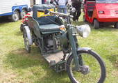 Ancien tricycle