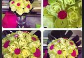 panel de fleurs