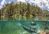 parc  sous marin du lac vert
