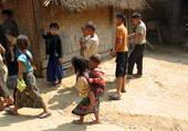 Puzzle les enfants laotiens