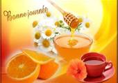 thé au miel
