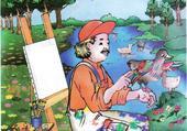 L'artiste en nature