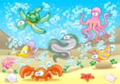 undersea cartoon