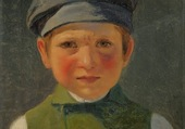 jeune pêcheur - Anton Dorph