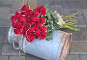 Bidon fleuri