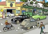 Puzzle Citroën et compagnie