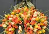 Suspension de tulipes