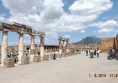 Pompeï et le Vésuve