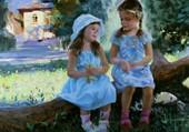 Puzzle la douceur de l'enfance