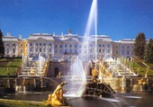 Palais Peterhof, Russie