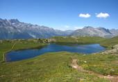 le lac noir Alpes d'Huez