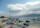 Calabre vue depuis Torre Faro
