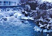 hiver sur la Gartempe
