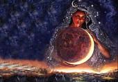 La déesse de la lune