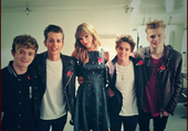 the vamps and taylor swift
