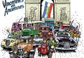 Vielles voitures à Paris