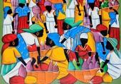 Marché à Haiti