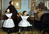 La famille BELLELLI- E. DEGAS