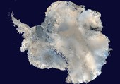 Antartique par satellite