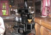 cuisinière d'autrefois