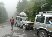 En route vers Darjeeling