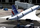 Regretté Concorde au parking