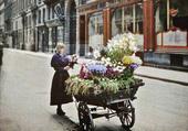 Fleuriste en 1900